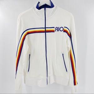 Vintage Guess Jeans Retro Rio zip up jacket RARE